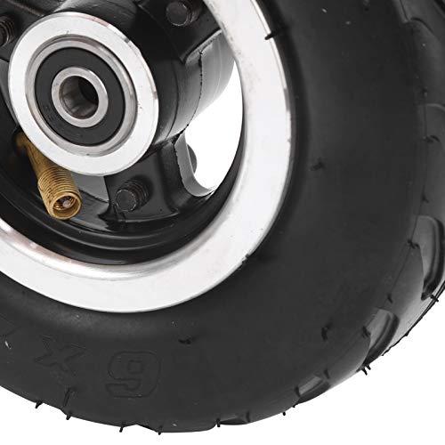 jadenzhou Neumático de Aire, neumático de Aire Inflable Rueda neumática para Scooter eléctrico