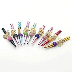 powerful Douup Multicolor Animal Diamond Shisha Accessories, Shisha with Shisha Attachment Filter, Detachable …