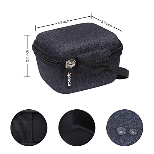 Aproca Hard Storage Carrying Travel Case for Zoom Video Recorder (Q2n-4K) (Black Photo #2