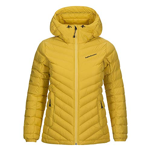Peak Performance Damen Frost Jacket, Gelb (Desert Yellow), M
