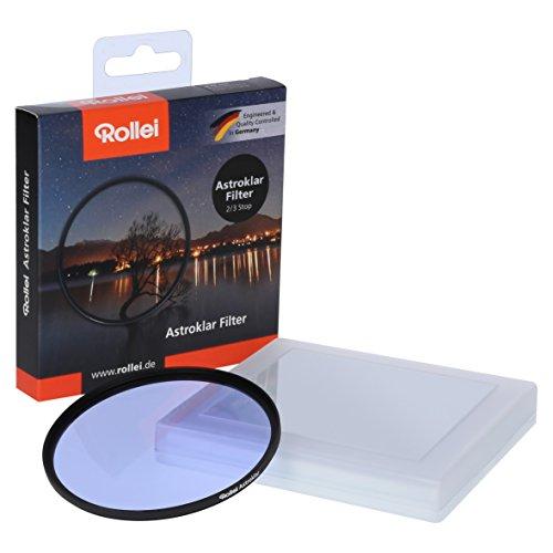 Rollei Astroklar Filtro Circular I 46 mm Filtro Anti-Contaminación Lumínica I Optimizado para la fotografía astronómica y fotografía Nocturna