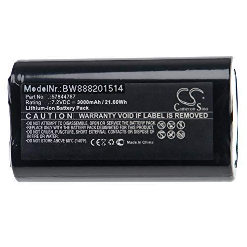vhbw batería Compatible con Gardena Groom Barber recortasetos Sierra de jardín podadora o Tijeras de jardín (5000mAh, 7,2V, Li-Ion)