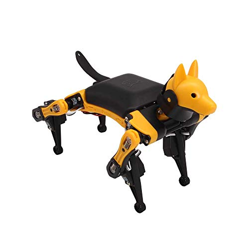 Petoi Bittle Bionic Open Source Robot Dog which has Customized Arduino board, Compatible with Raspberry Pi, Arduino IDE and graphical programming, Easy to operate and Rich curriculum resources