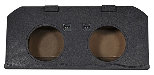 """Dual 15"""" Sealed Subwoofer Box for 2002-13 Chevy Avalanche+Cadillac Escalade EXT"""