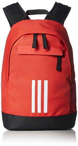 adidas Adi Cl XS 3S, Mochila Unisex Infantil, Rojo (Roalre/Blanco/Blanco), 36x24x45 cm (W x H x L)