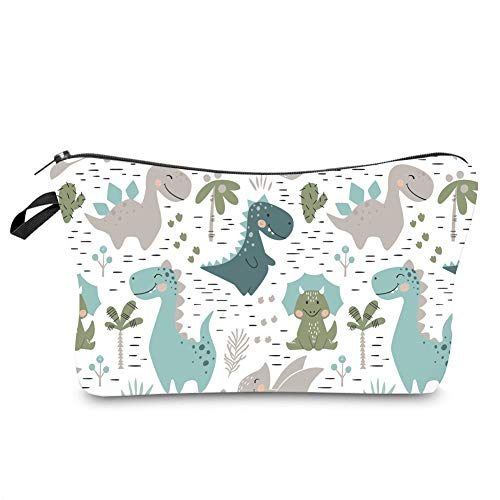 Jom Tokoy Hakuna Matata Makeup Bag Travel Case Cosmetic Bag (Dinosaur)