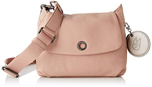 Mandarina Duck Damen Mellow Leather Handtasche, Rose Dawn, Taglia Unica