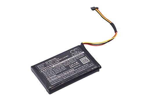 GPS Battery for Tomtom Go 510 4FA50 Go 520 Go 520 WiFi Fits Tomtom AHA11110004 P5 P6 Navigator Battery(Li-Ion,3.70V,1100mAh / 4.07Wh)