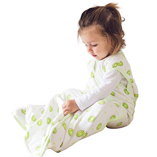 Premium Muslin Sleeping Bag for Baby, Super Soft and Light...