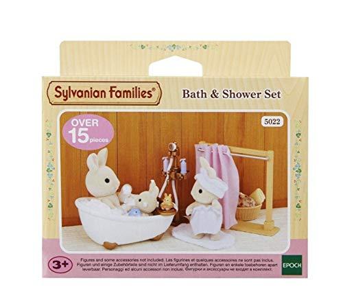 Sylvanian Families 5022 Bad und Dusch-Set - Puppenhaus Einrichtung Möbel