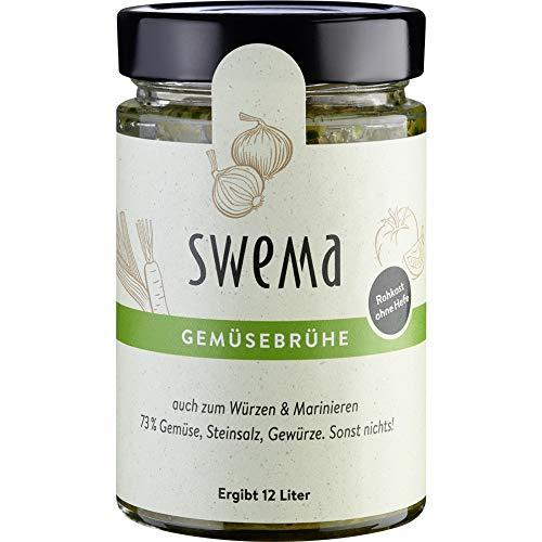 """SweMa Frische Gemüsebrühe """"SweMa"""" mit 73% rohem Gemüse (320 g) - Bio"""