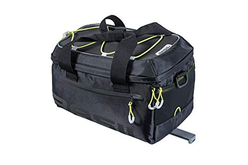 Basil Unisex– Erwachsene Miles MIK Gepäckträgertasche, Schwarz, One Size