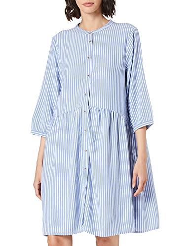 Cecil Damen 142940 Kleid, Blouse Blue, M