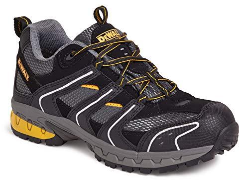 Cutter - Zapatillas deportivas de seguridad, talla 47, color negro y gris