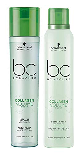 Schwarzkopf BC Bonacure Volume Boost Set (shampoing 250 ml + mousse Perfect Foam 200 ml)