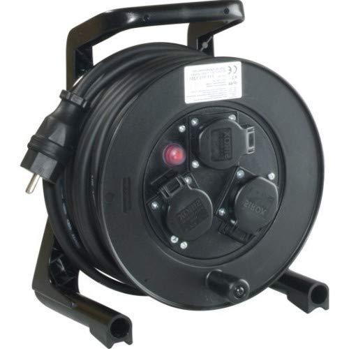 JUMBO® XS Kabeltrommel H07RN-F Leitungsfarbe schwarz, Länge 25 m