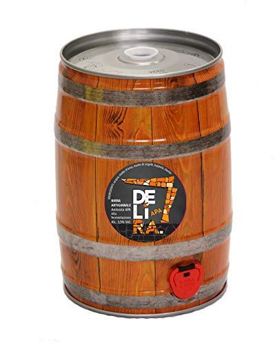 Birra Artigianale Cruda Italiana DELìRA APA - Fusto 5 Litri - Prodotta da I.C.B. Italian Craft Brewery (1)