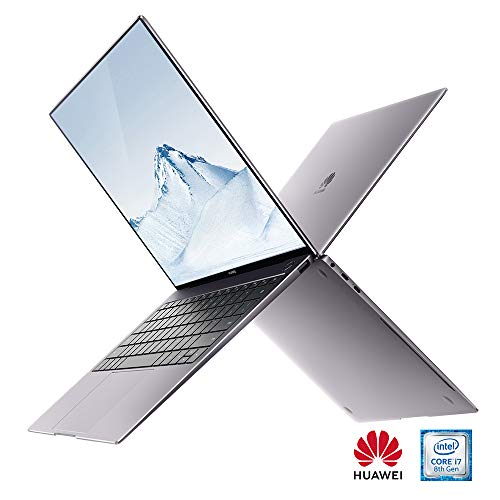 Huawei Matebook X PRO 13.9\' Laptop (Grey) 3k TouchScreen- 35.3 centimeters LCD Laptop (Grey) - Intel 8th Generation i7-8550U 1.8 GHz, 8 GB RAM, 512GB SDD, Geforce MX150, Windows 10 Pro