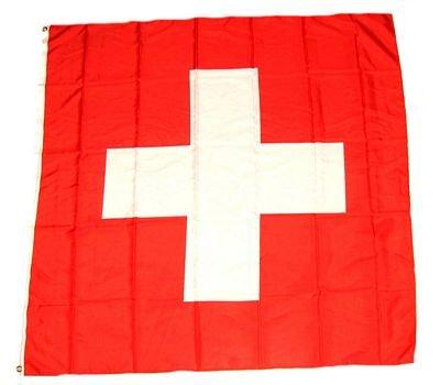 Fahne / Flagge Schweiz NEU 90 x 90 cm Flaggen Fahnen