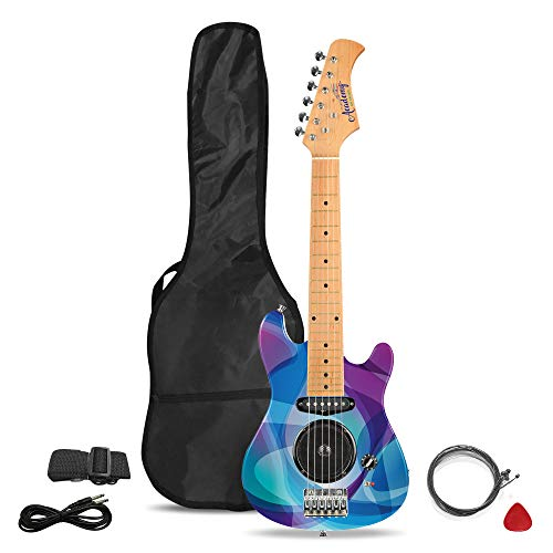 Academy of Music TY6016A Kids Electric Guitar Starter Set for Beginners...