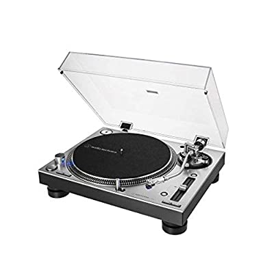 Audio-Technica - AT-LP140XP Professional Direct Drive Manual Turntable - Silver