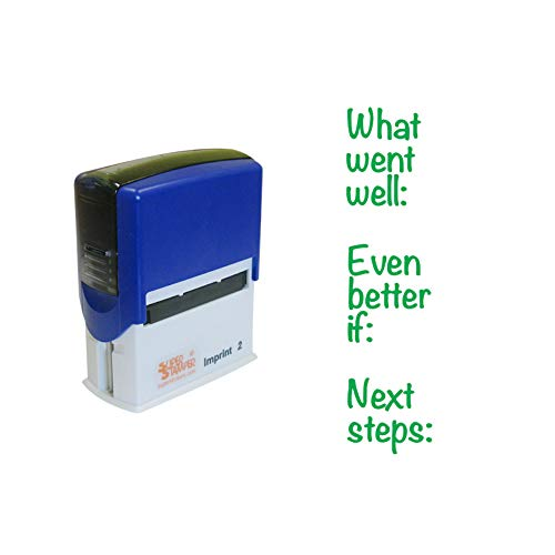 Stamper Solutions DSV13050'What Went Well, Even Better If...