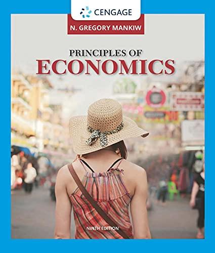 Principles of Economics (MindTap Course List) 9th Edition (English Edition)