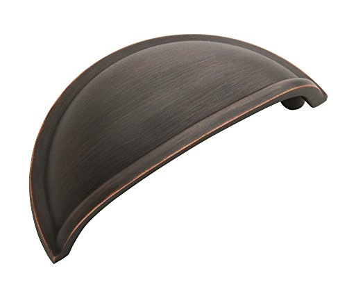 Amerock BP53010ORB, Oil-Rubbed Bronze BP53010-ORB Allison Value Hardware 3-Inch Center Pull, 3 Inches (76 mm) Center-to-Center