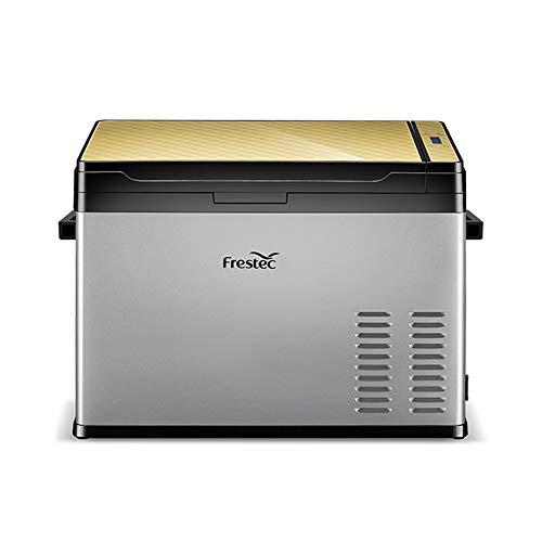 40 Litri Frigorifero Portatile Congelatore Uso Auto Frigorifero Frigo per Uso Domestico con Compressore, Dual Zone, Display LCD, -25 ° C ~ 30 ° C, 12V   24V   110V ~ 240V