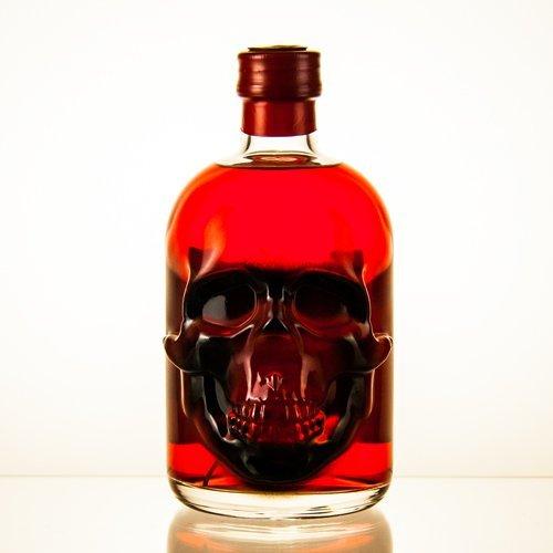 1 Flasche Roter Red Chili Absinth (0,5l) | Absynth Drink 55 Vol Alkohol und 35mg Thujon | Alkoholische Schnaps Geschenk-Idee für Männer Spirituose