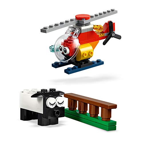 LEGO 11003 Classic Bricks and Eyes, Construction Toys for 4 Year Olds