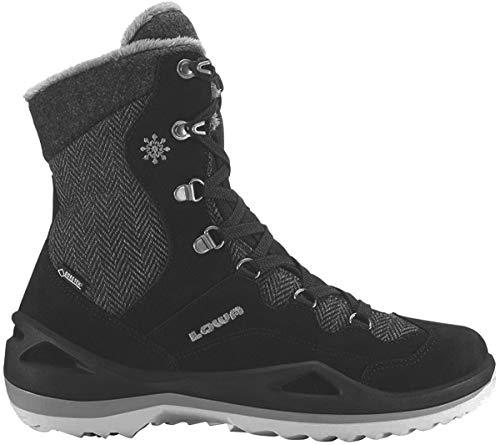 Lowa Damen Calceta GTX Trekking- & Wanderstiefel, Schwarz (schwarz/grau), 38 EU
