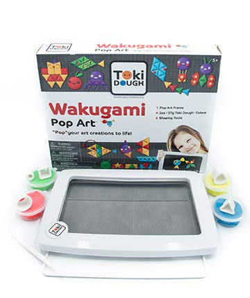 Relevant Play Toki Dough Wakugami Pop Art - Modeling Dough-Never Dries Out