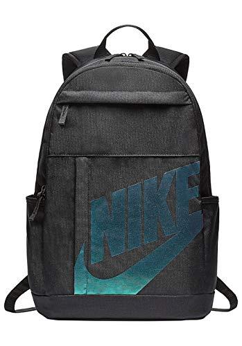 Nike Nk Elmntl Bkpk - 2.0 - black/black/metallic silver, Größe:-