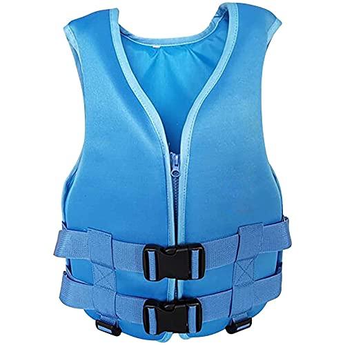 Wassersportwesten für Erwachsene, Multi-Szenen-Auftriebswesten für Kinder und Damen, einfach zu tragende und zu tragende Wasserjacken, geeignet zum Schwimmen(Color:blue,Size:S)
