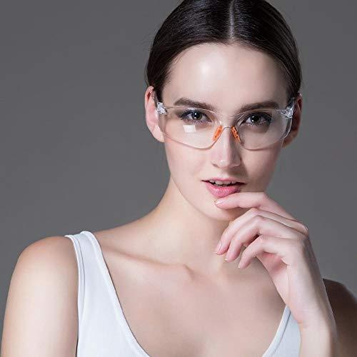Brillenbril, tegen krassen, veiligheidsbril, voor op het werk, veiligheidsbril, wind- en industriezand, voor buiten Verres À Sable Coupe-vent