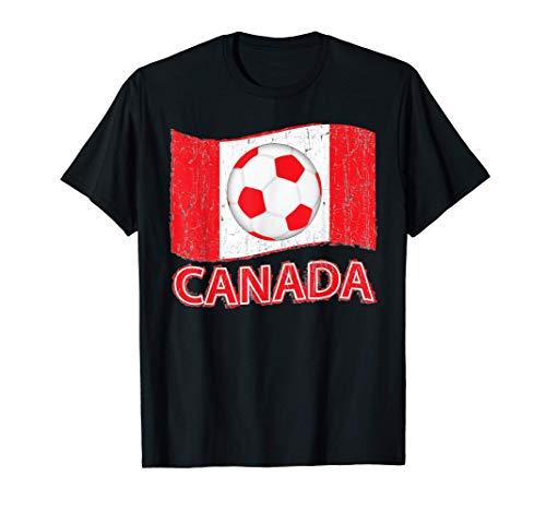 Canada Canadian Futbol Camiseta