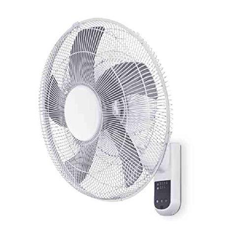Cfg Ventilatore Wall Parete Muro, 60W, 3 Velocità, 65 db, DM 45, Telecomando/Timer, EV077