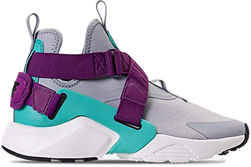 Nike Damen Air Huarache City Low Laufschuh, Grau (Wolf Grey/Wolf Grey-lt Retro), 43 M EU