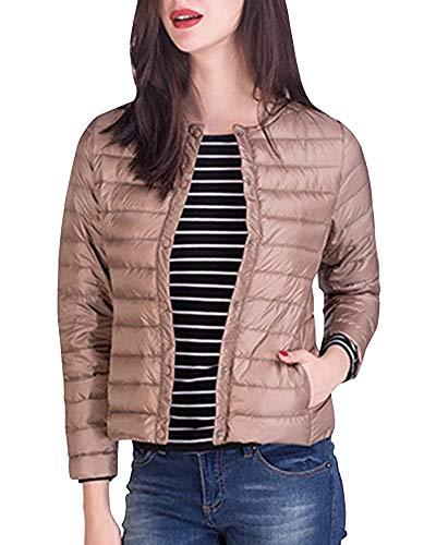 Dames Ultra Light Down Jacket Winterjas Korte Overgang Jas Vintage Modieuze Completi Klassieke Winterjas