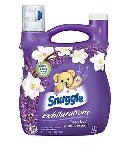 Snuggle Exhilarations Liquid Fabric Softener, White Lavender & Sandalwood Twist, 96 oz (1)