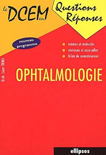 Ophtalmologie (Dcem)