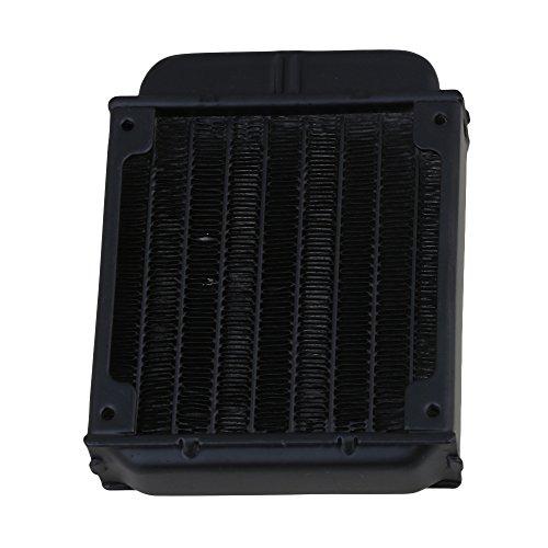 BQLZR 80 Row PC CPU CO2 radiatore scambiatore di calore ad acqua calda