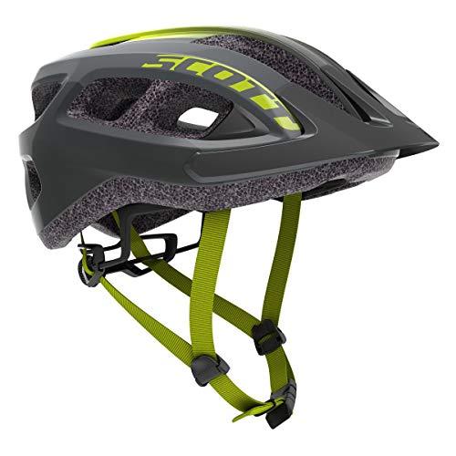 Scott Supra MTB Fahrrad Helm Gr.54-61cm schwarz/fade gelb 2021
