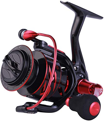 Sougayilang Spinning Reels 6.2:1 High Speed ​​Gear Ratio
