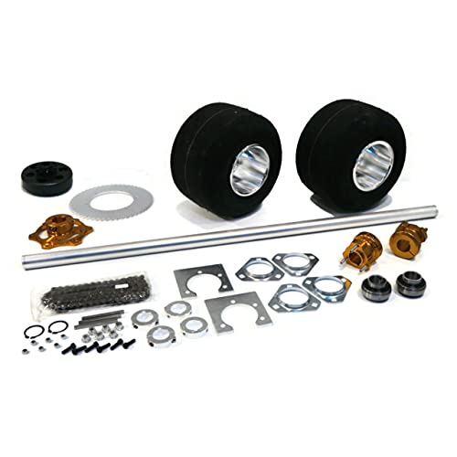 The ROP Shop | 40 Inch Shaft Kit for Drift Trike Bikes includes (4) Bearing Flangettes PFT-206