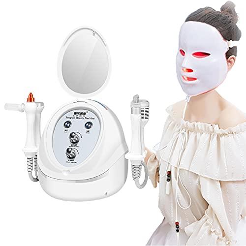 JSBVM Instrumento De Belleza De Burbuja Pequeña, Facial Rejuvenecimiento Reducir la Grasa, Arrugas Anti-envejecimiento Adelgazar Máquina Instrumento de Belleza