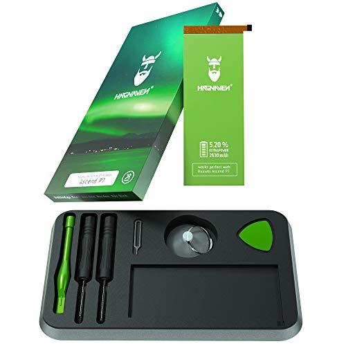 Batería Hagnaven® Li-polímero para Huawei Ascend P7 | Batería con Herramientas | Potente Batería de sustitución | 2630 mAh | Celdas Sustituye HB3543B4EBW