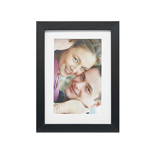 Porta-retratos Insta Pto/Fotos 10x15cm Com Pp 13x18cm Ext. 15x21cm Kapos Preto