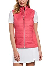 Callaway Lightweight Quilted Vest Sin mangas. para Mujer